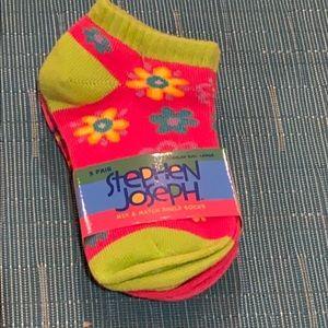 Other - Stephen Joseph Girls 3 pair Socks
